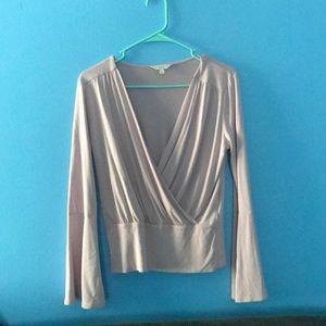 Bell Sleeve Lavender Lucky Brand Shirt